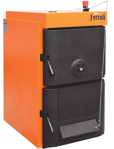 cazan 24 kw din font pe combustibil solid ferroli model sfr pro 4 rotherm. Black Bedroom Furniture Sets. Home Design Ideas